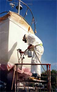 Paint and Hull Repair